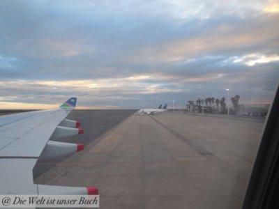 Rückflug Richtung Deutschland
