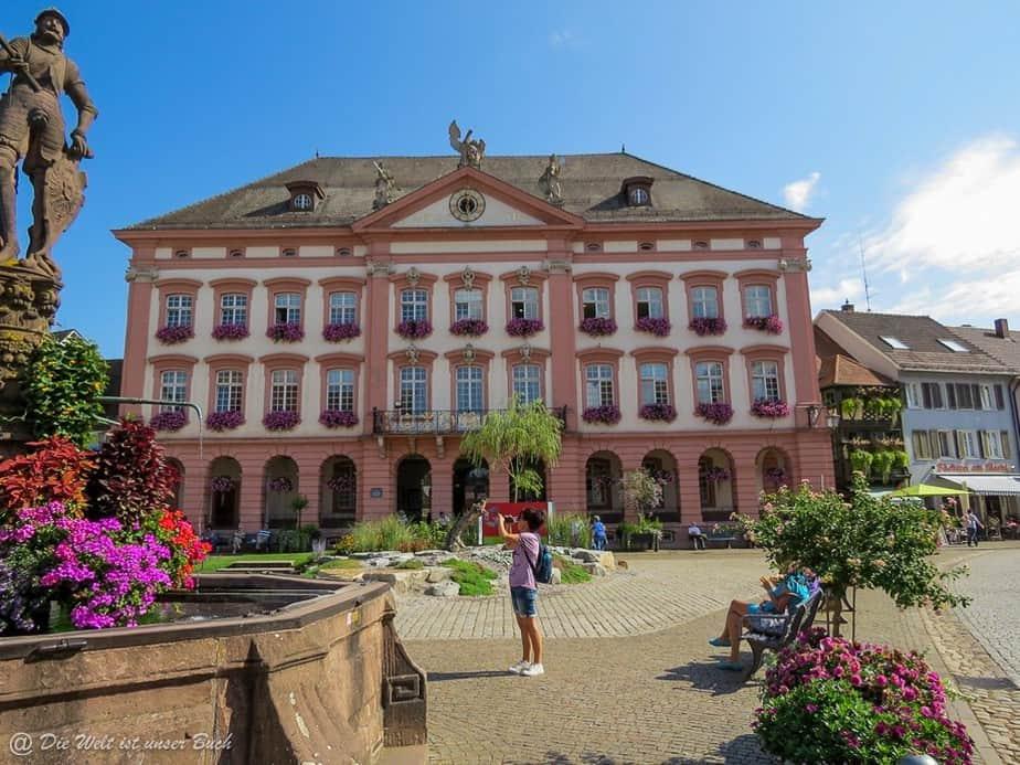 Das Rathaus in Gengenbach