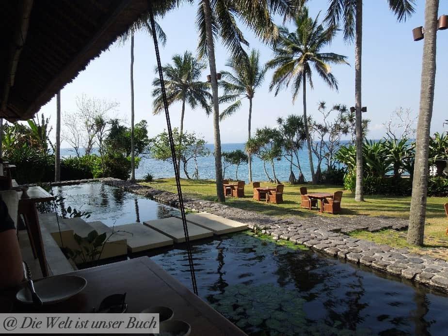 Strandblick auf Bali