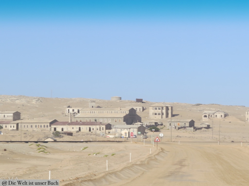 Kolmannskuppe und die Namib Wüste