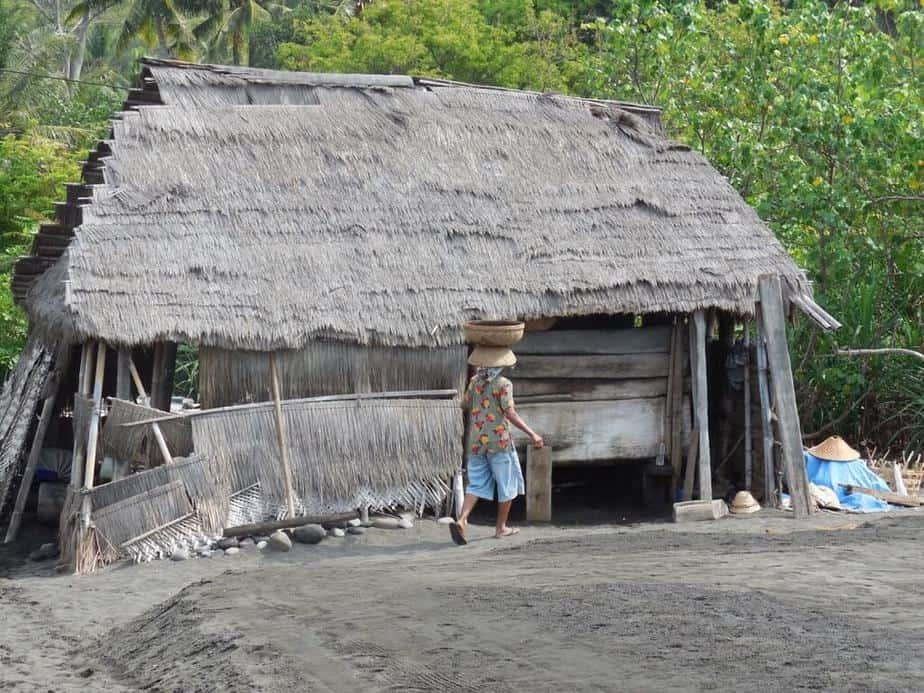 Salzgewinnung auf Bali