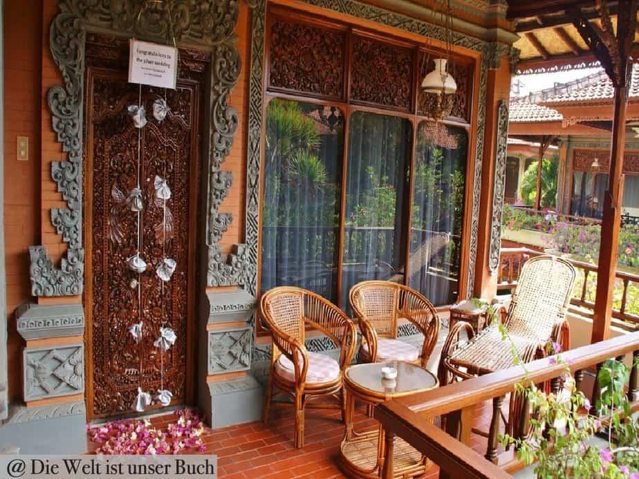 Silberhochzeit auf Bali